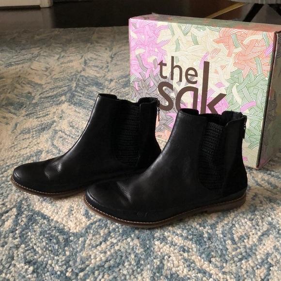 8ced9457935 The Sak Jillian Black Leather Boots
